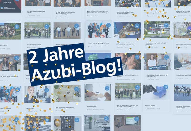 Zwei Jahre Azubi-Blog